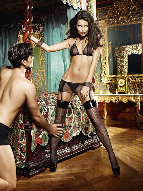 A csábítás egyik eszköze a szexi fehérnemű!